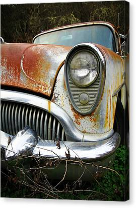 Forgotten Buick Canvas Print by Steve McKinzie