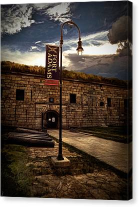 Block Island Canvas Print - Fort Adams State Park by Lourry Legarde