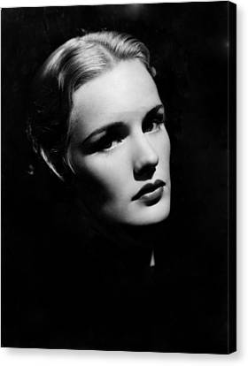 Frances Farmer, Paramount Pictures Canvas Print