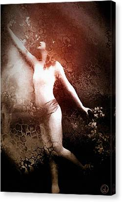French Postcard Canvas Print by Gun Legler