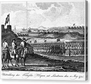 French Revolution, 1794 Canvas Print by Granger