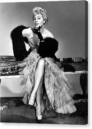 Frenchie, Shelley Winters, 1950 Canvas Print by Everett