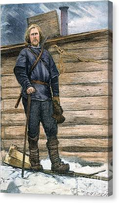 Fridtjof Nansen (1861-1930) Canvas Print by Granger