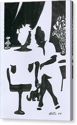 Friends Canvas Print by Rhetta Hughes