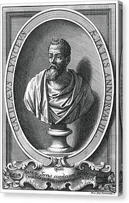 Galileo Galilei, Italian Astronomer Canvas Print by Humanities & Social Sciences Librarynew York Public Library