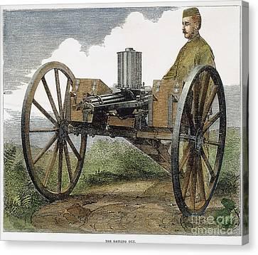 Gatling Gun, 1872 Canvas Print by Granger