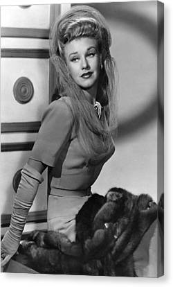 Ginger Rogers, Ca. 1943 Canvas Print