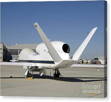 Global Hawk Unmanned Aircraft Canvas Print by Stocktrek Images