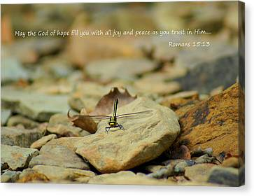 God Of Hope Canvas Print by Naturevine Photography