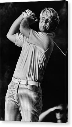 Golf Pro Jack Nicklaus, C. 1970s Canvas Print by Everett