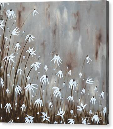 Gossamer Field Canvas Print by Holly Donohoe