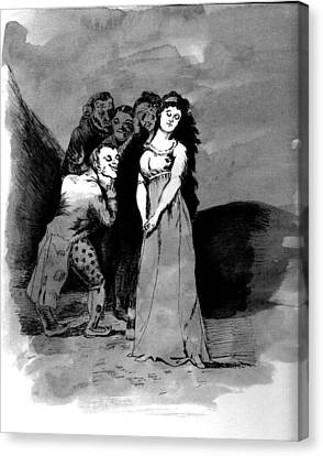 Goya Copy Canvas Print by Sarah Farren