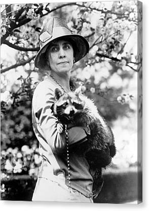 Grace Coolidge 1879-1957, First Lady Canvas Print by Everett
