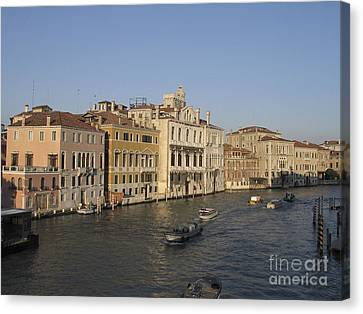 Serenisim Canvas Print - Grand Canal. Venice by Bernard Jaubert