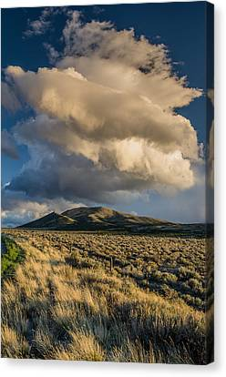 Great Basin Cloud Canvas Print by Greg Nyquist