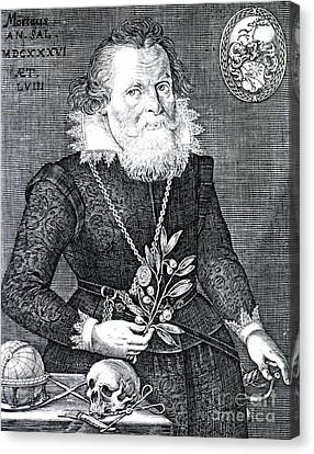Gregor Horstius, German Physician Canvas Print by Science Source