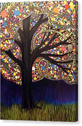 Gumball Tree 00053 Canvas Print