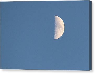 Half Moon Rising Canvas Print