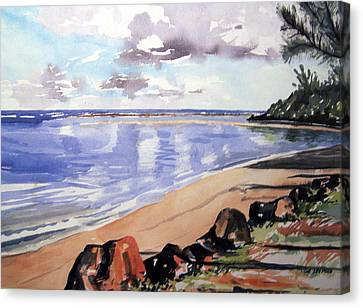 Hanalei Bay Canvas Print by Jon Shepodd