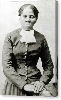 Abolitionist Canvas Print - Harriet Tubman American Abolitionist by Photo Researchers