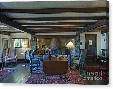 Hastings House Lounge Canvas Print by Rob Tilley