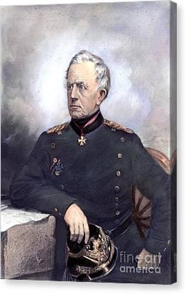 Helmuth Von Moltke Canvas Print by Granger