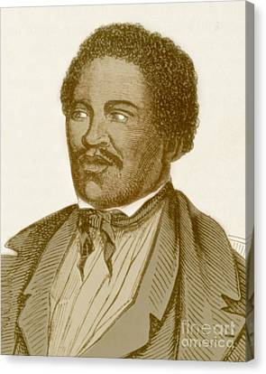Abolitionist Canvas Print - Henry Box Brown, African-american by Photo Researchers