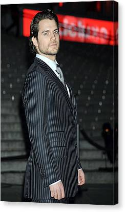 Henry Cavill At Arrivals For Vanity Canvas Print by Everett