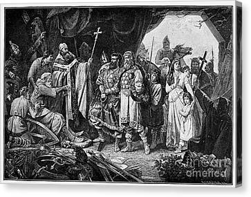 Henry I (876-936) Canvas Print by Granger