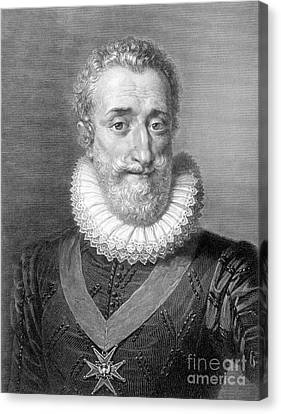 Henry Iv (1553-1610) Canvas Print by Granger