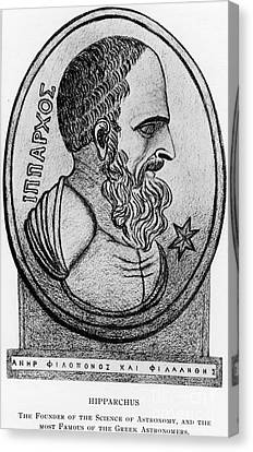 Observer Canvas Print - Hipparchus, Greek Astronomer by Photo Researchers, Inc.