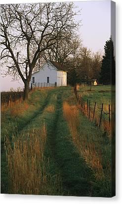 Historic Stevens Creek Farm Canvas Print by Joel Sartore