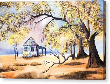 Home Home On The Range Canvas Print by Coralie Smyth