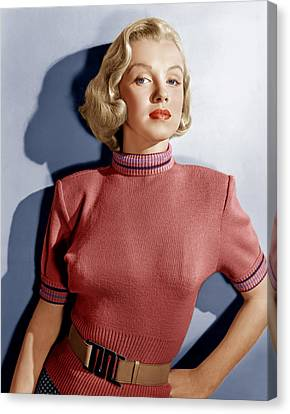 Home Town Story, Marilyn Monroe, 1951 Canvas Print