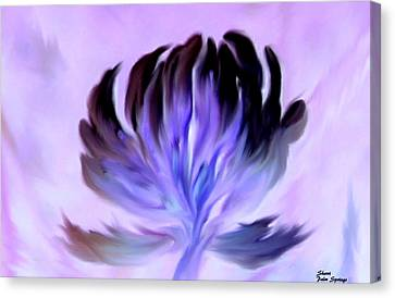 Arcylic Canvas Print - I Open My Heart To You by Sherri's Of Palm Springs