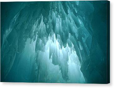 Ice Chandelier Canvas Print
