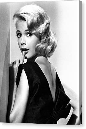 1960s Hairstyles Canvas Print - If A Man Answers, Sandra Dee, 1962 by Everett