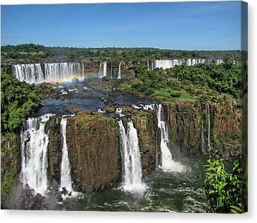 Iguazu Falls Canvas Print by David Gleeson