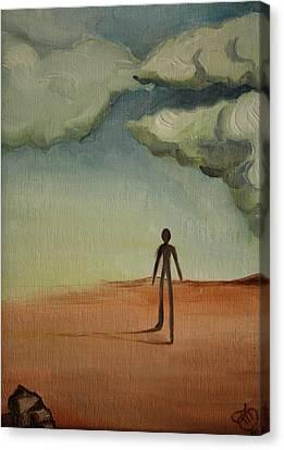 Il Cammino 2010 Canvas Print by Simona  Mereu