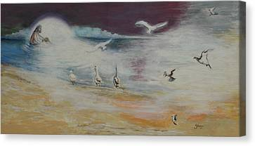 Immersion Of The Light Canvas Print by Bruce Shane