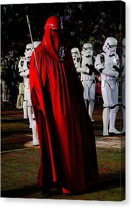 Imperial Red Guard Canvas Print