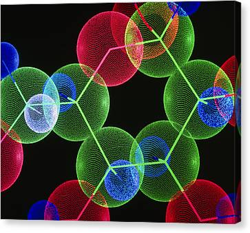 Insulin Molecule Canvas Print
