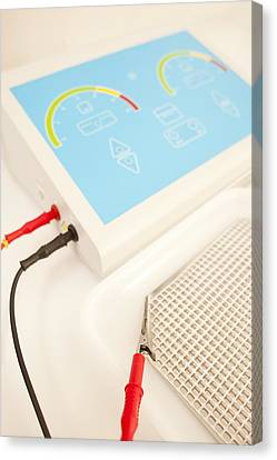 Iontophoresis Equipment Canvas Print by
