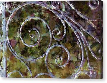 Iron Gate Canvas Print by Donna Bentley