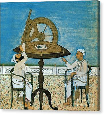 Islamic Astronomers Canvas Print by Science Source
