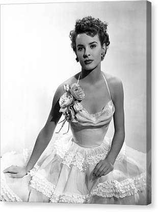 It Happens Every Spring, Jean Peters Canvas Print by Everett