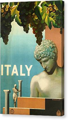 Italy Canvas Print by Georgia Fowler
