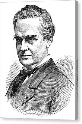 J. Marion Sims, Father Of American Canvas Print by Science Source