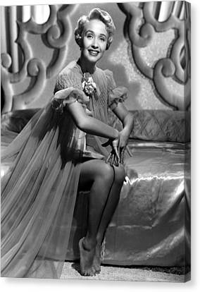 Jane Powell, Mgm, Early 1950s Canvas Print