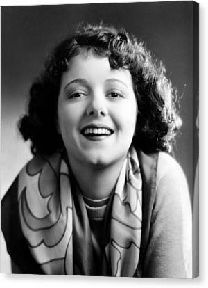 Janet Gaynor, 1929 Canvas Print by Everett